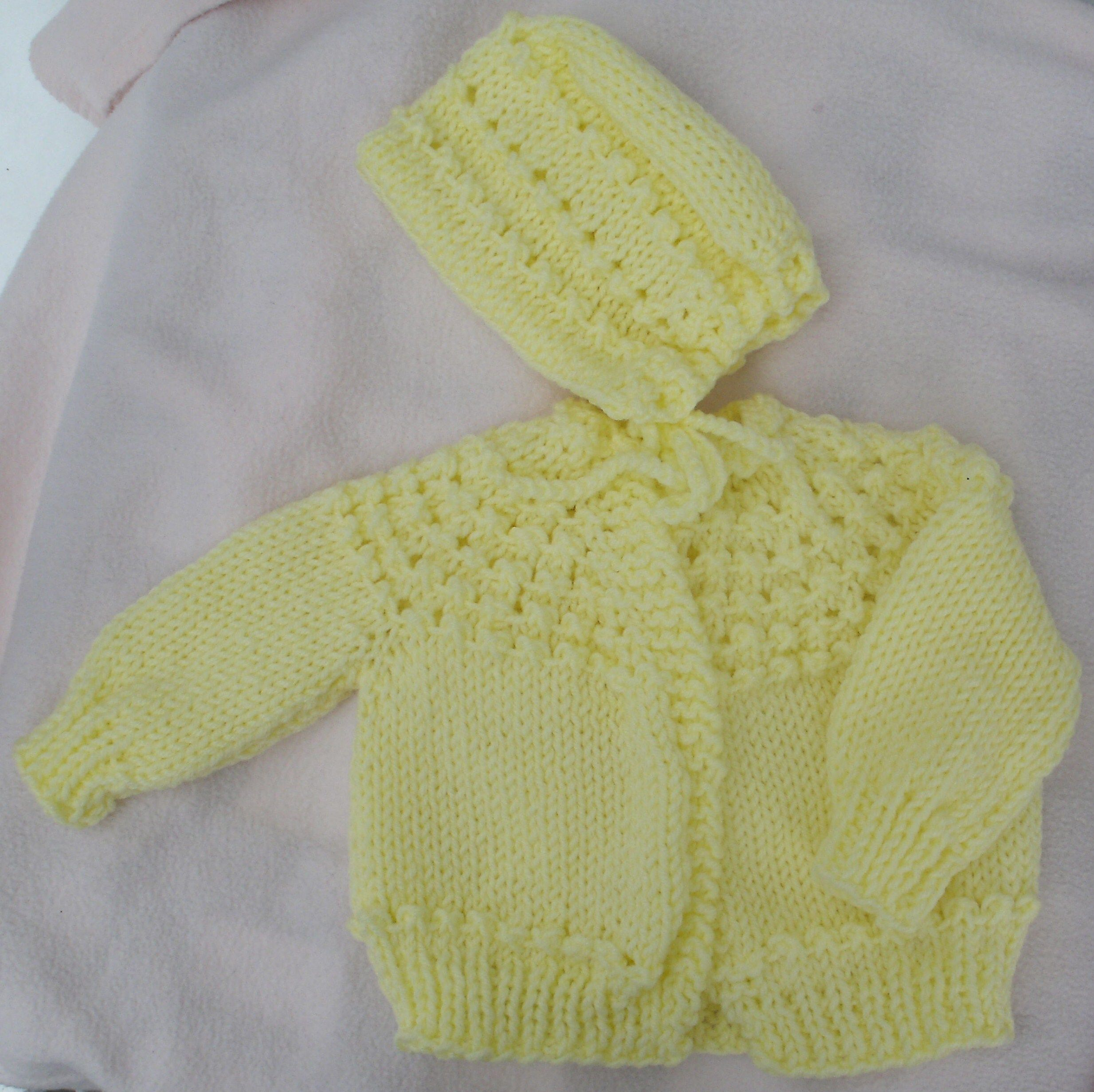 d2bc07a52915 PH-1215Y - Baby Sweater Set -