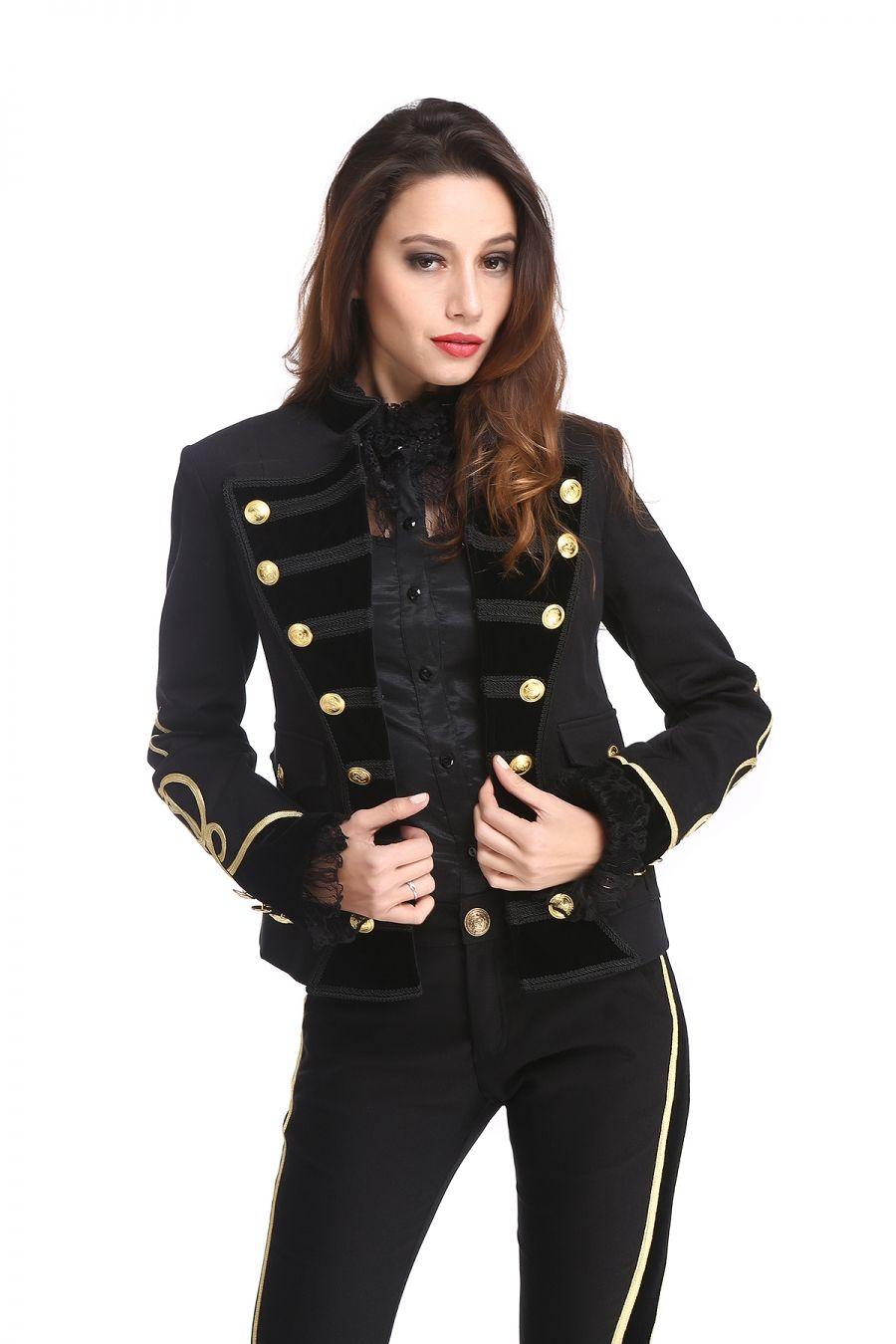 Veste officier pour femme