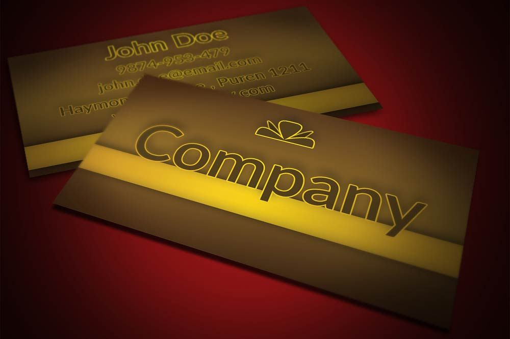 Elegant candy store business card template, available for free ...