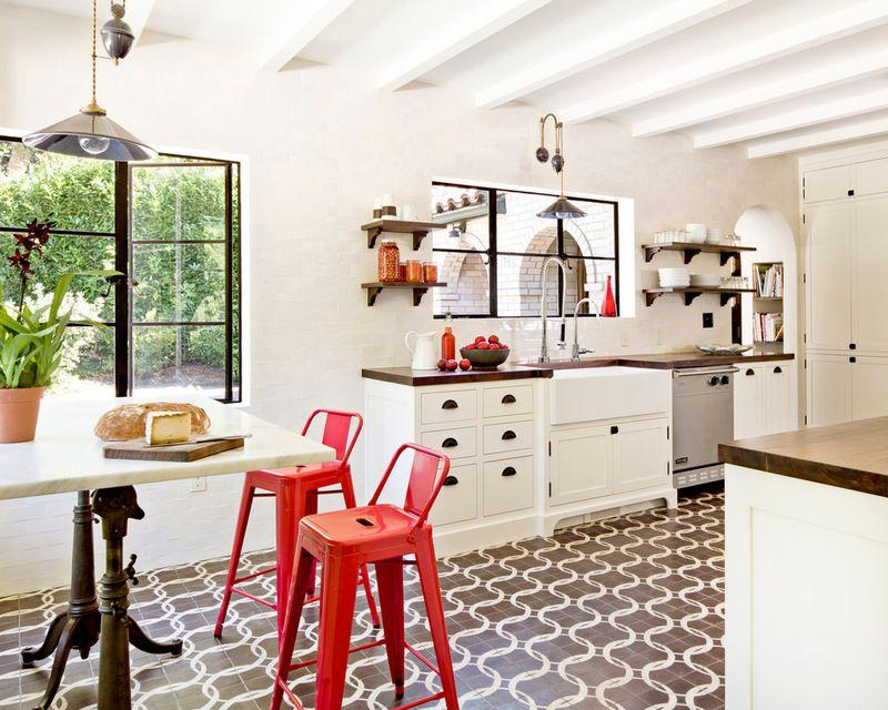 mediterranean kitchen by Jessica Helgerson Interior Design. A ...