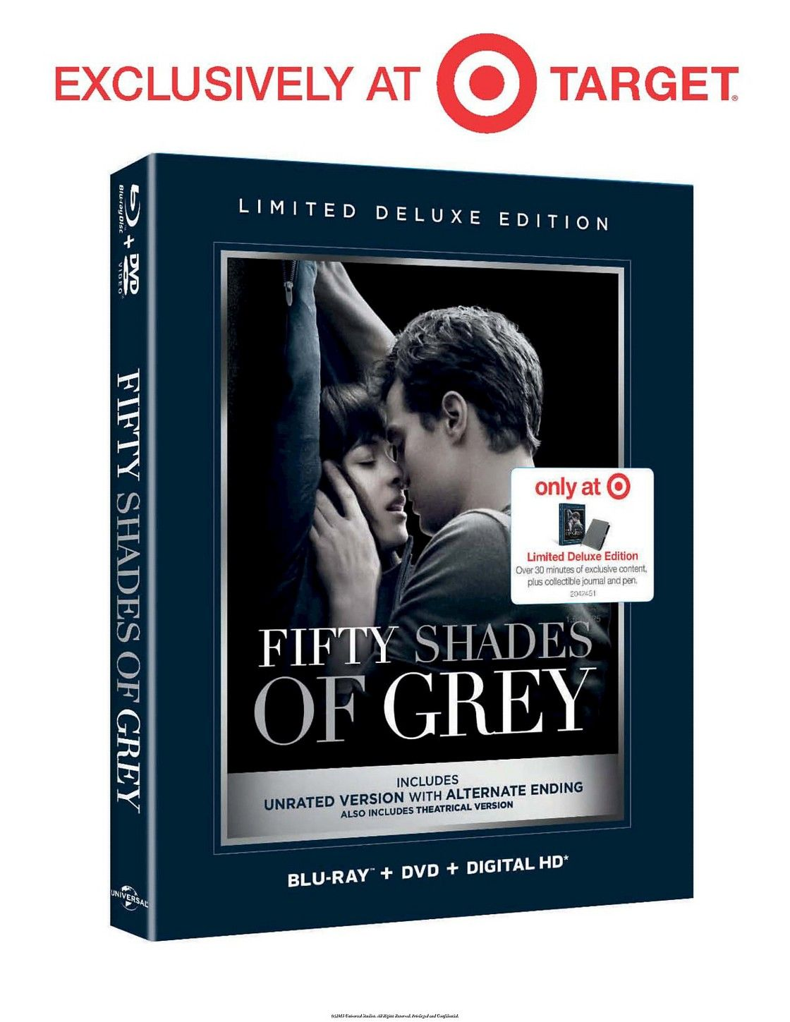 Fifty Shades of Grey (Blu-ray/DVD) - Target Exclusive Deluxe Version   Im so excited!!!