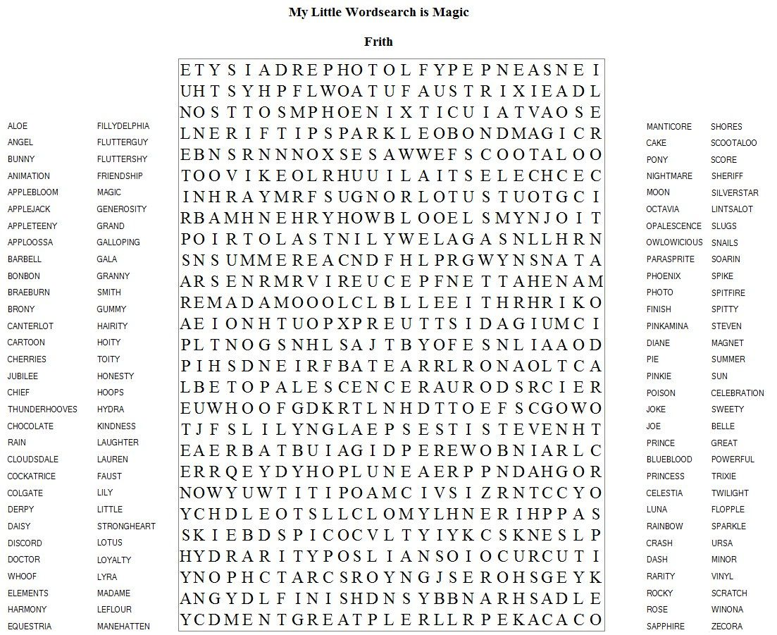 Very Hard Word Searches