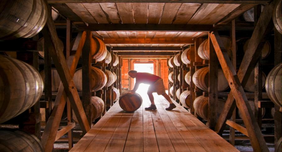 Rackhouse At Jim Beam Distillery Road Trip Kentucky Bourbon