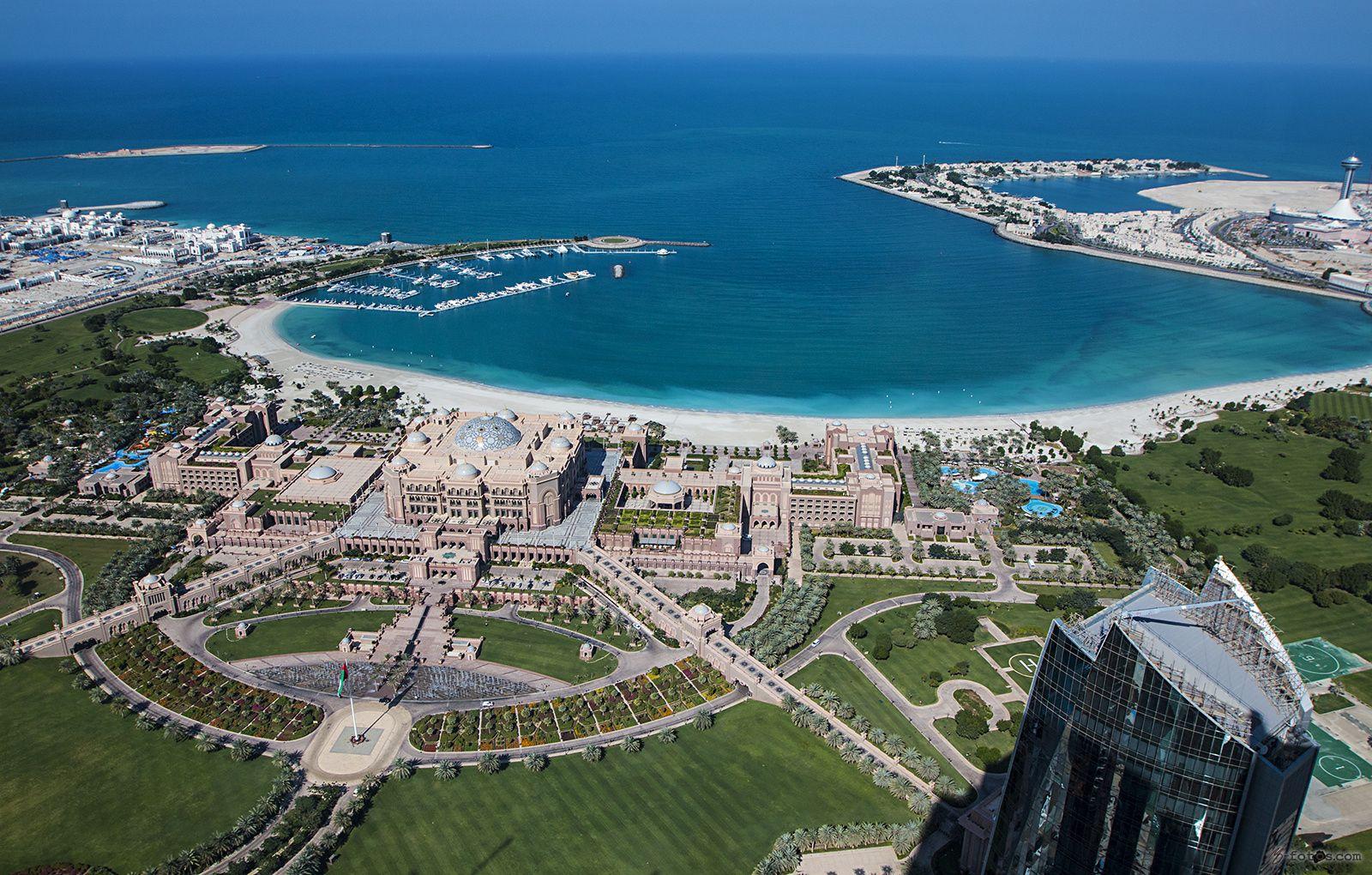 Fotografía ... view from above ... por MD-FOTOS  en 500px Palacio de los Emiratos, Abu Dabi