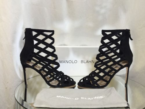 discount 100% guaranteed Manolo Blahnik Vagibu Cage Sandals sale recommend kSjZRgiv