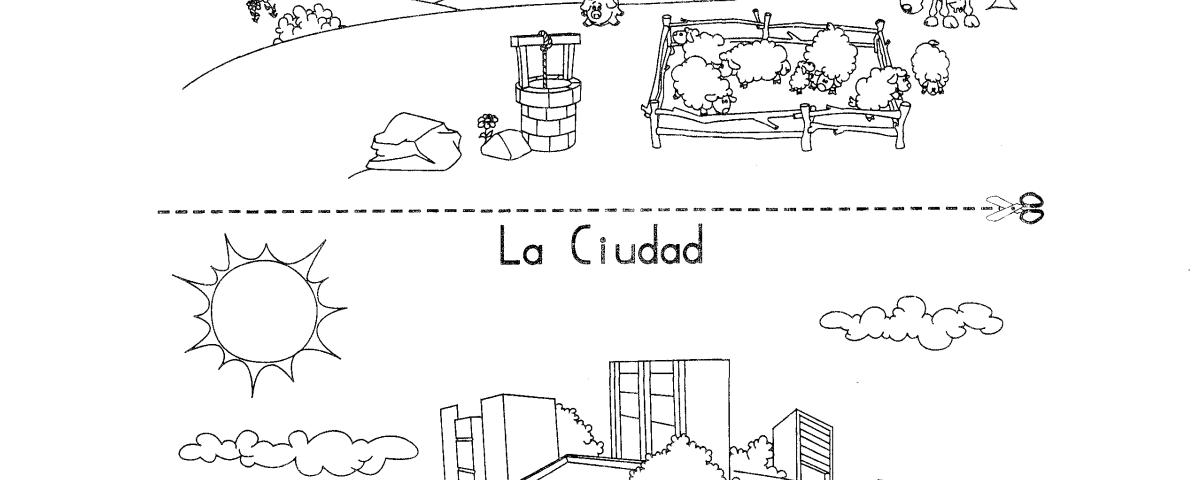 Resultado De Imagen Para Campo Y Ciudad Para Primer Grado Cosas