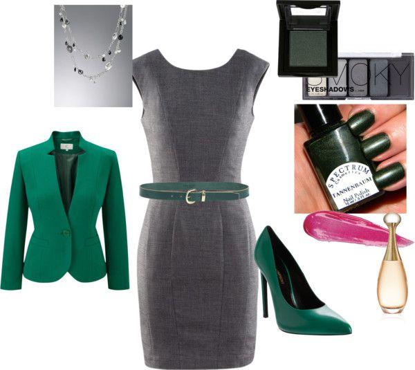 Vestido Gris Verde Combinar Ropa Mujer Vestido Gris Ropa