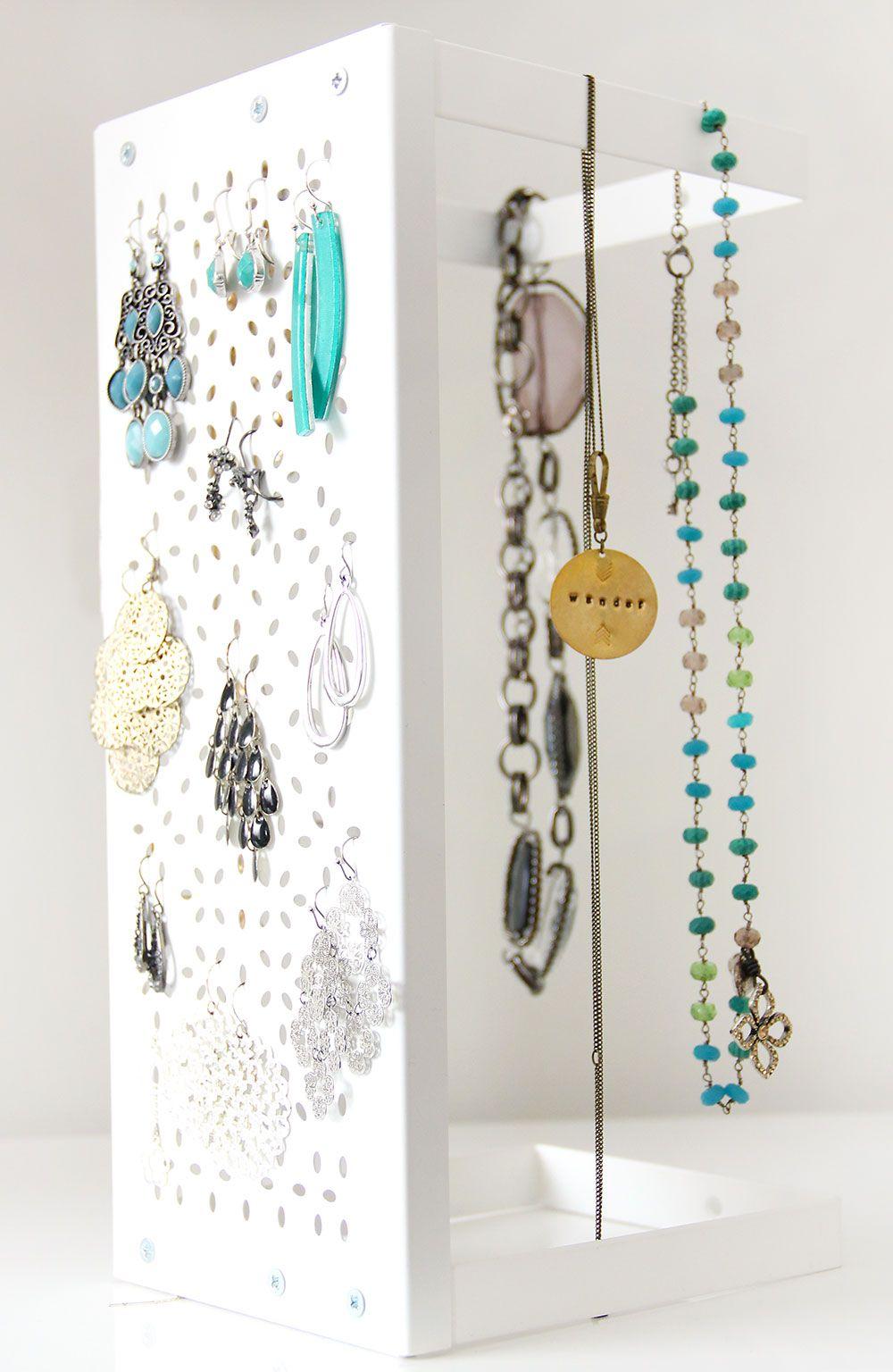 Jewelry Storage And Ikea Hack Ikea Jewelry Storage Jewellery