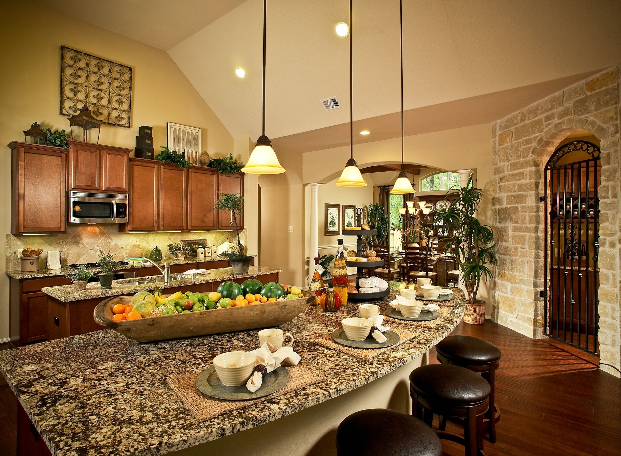 Mhi Home Builder Plantation Kitchen
