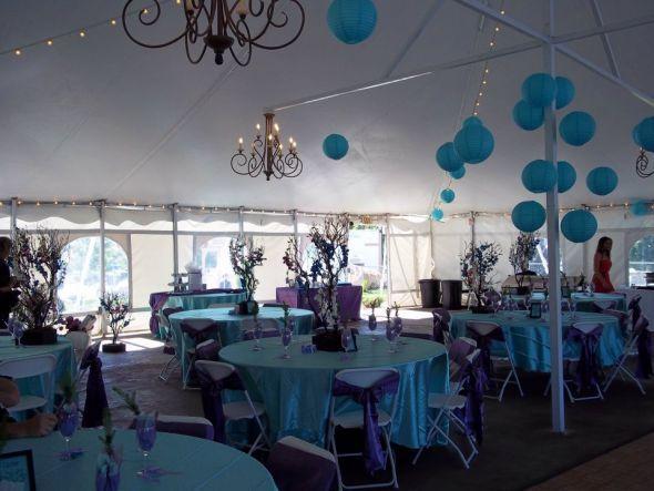 Tiffany Blue Tablecloths For Sale Wedding Purple Reception Table