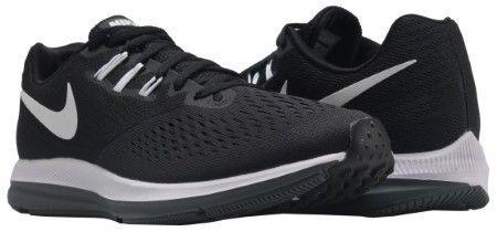 new styles 04428 e1789 Nike 898466-001 Men Zoom Winflo 4 Black White-Dark Grey