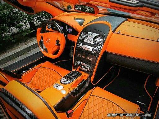 Fab Design Mercedes Benz Slr Mclaren Roadster Desire Interior