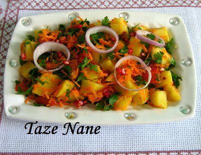TAZE NANE: Salatalar ve Meze