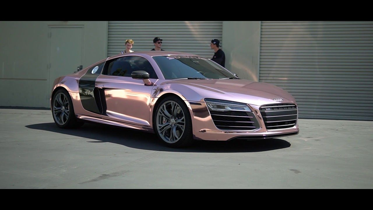 Image Result For Tanner Braungardt Audi R8 Rose Gold