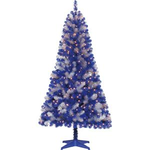 Holiday Time 6' Pre-Lit Dallas Cowboys Artificial ...