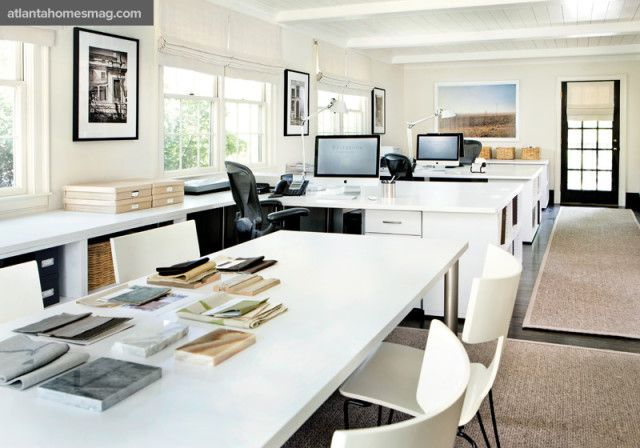 Form Meets Function In The Charming Cottage Office Of Interior
