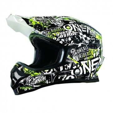 ONeal Oneal 3/ Series Attack Youth Casco Motocross