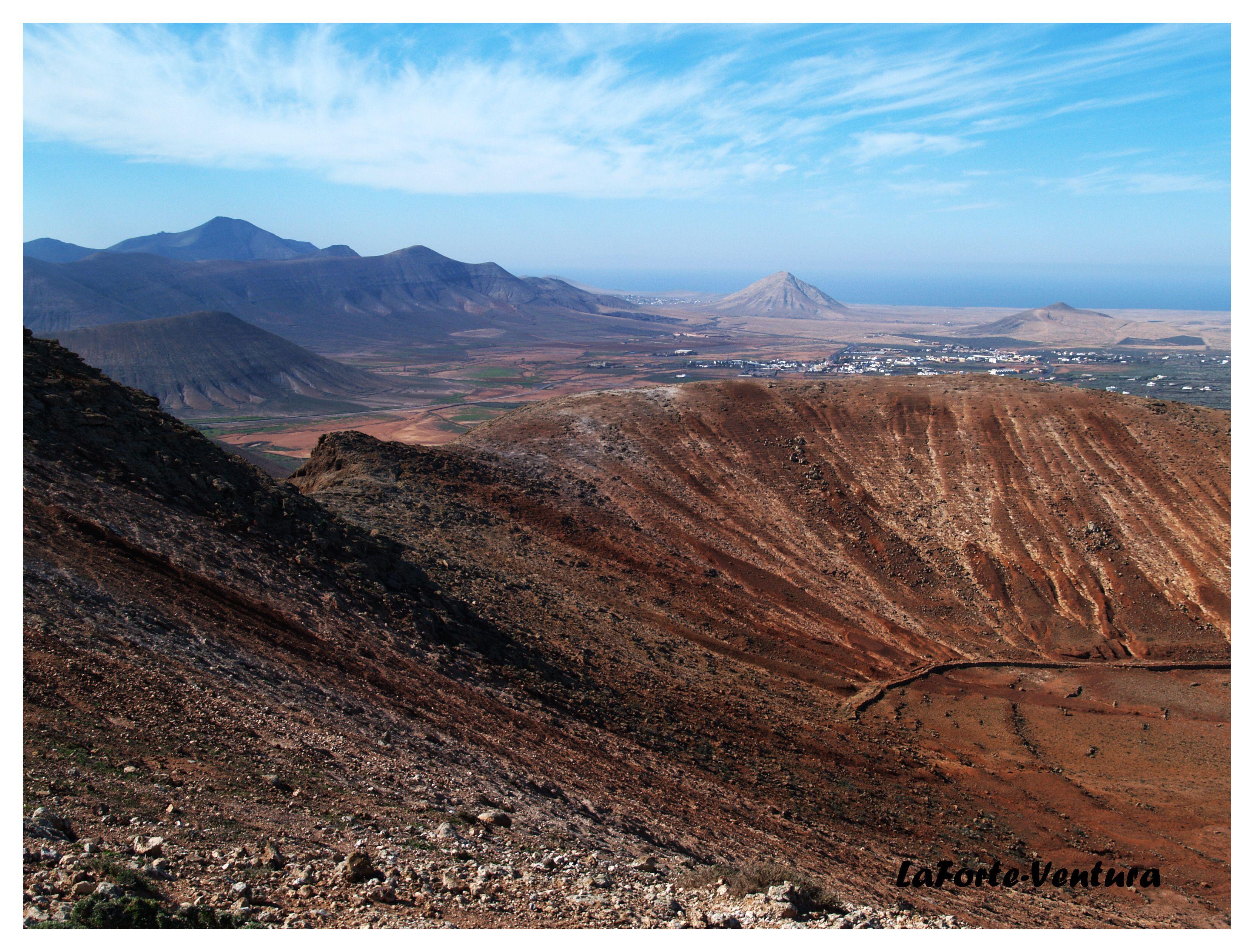 Fuerteventura en las alturas.