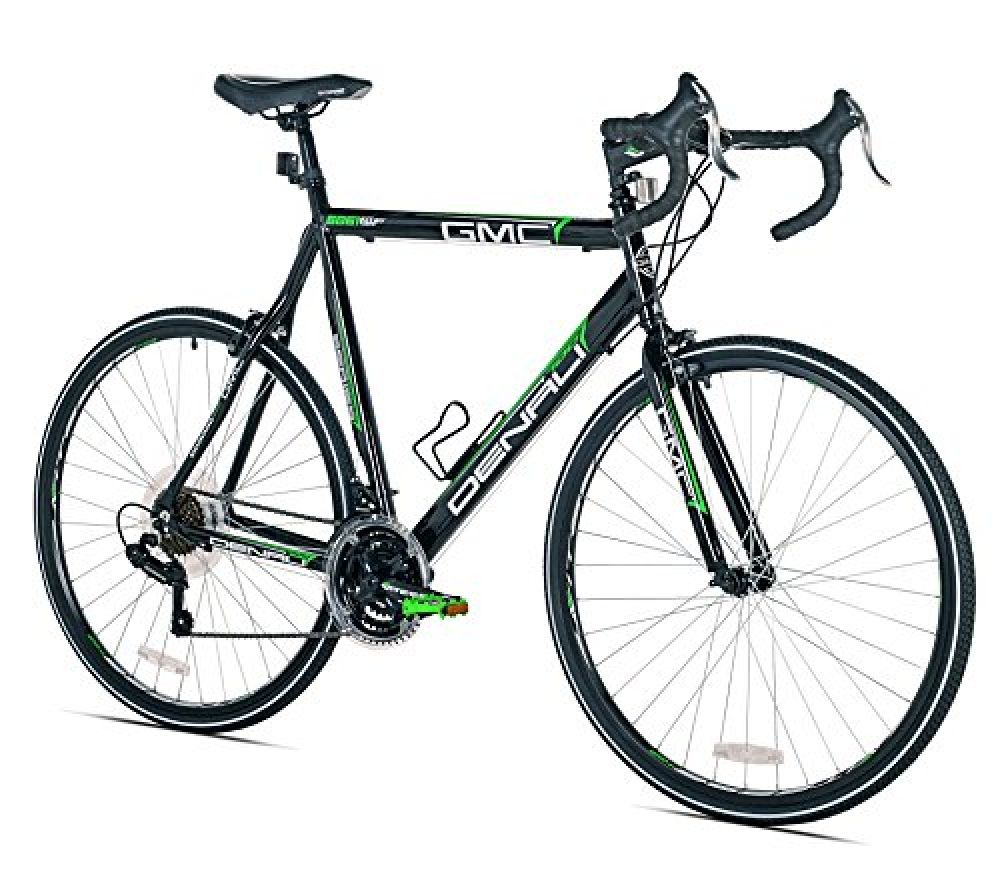 Gmc Denali Road Bike 700c Black Green Small 48cm Frame In 2020 Best Road Bike Gmc Denali Bike Seat