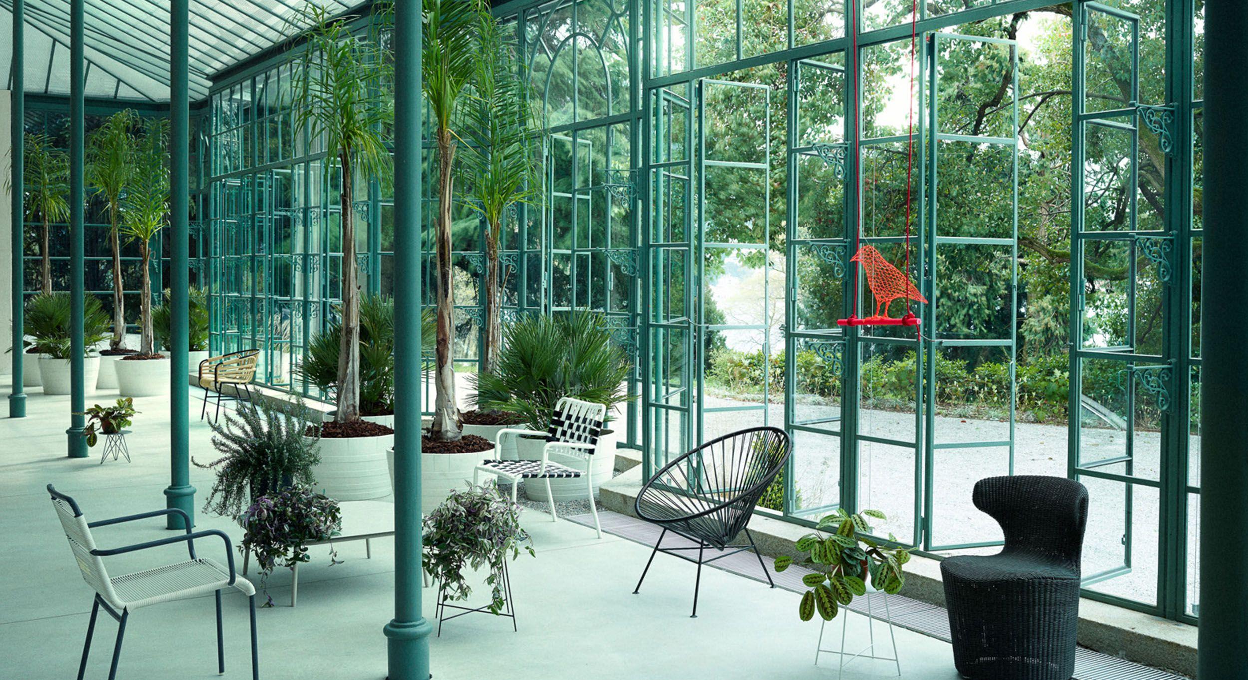 Jardin d 39 hiver ambiance botanique et vert meraude for Jardin botanique hiver 2015