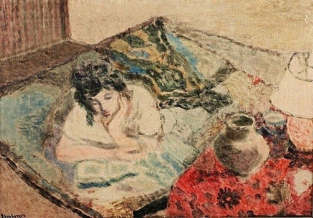 "huariqueje: ""  Reading fairy tales - Eric Isenburger , 1943 American , 1902-1994 """