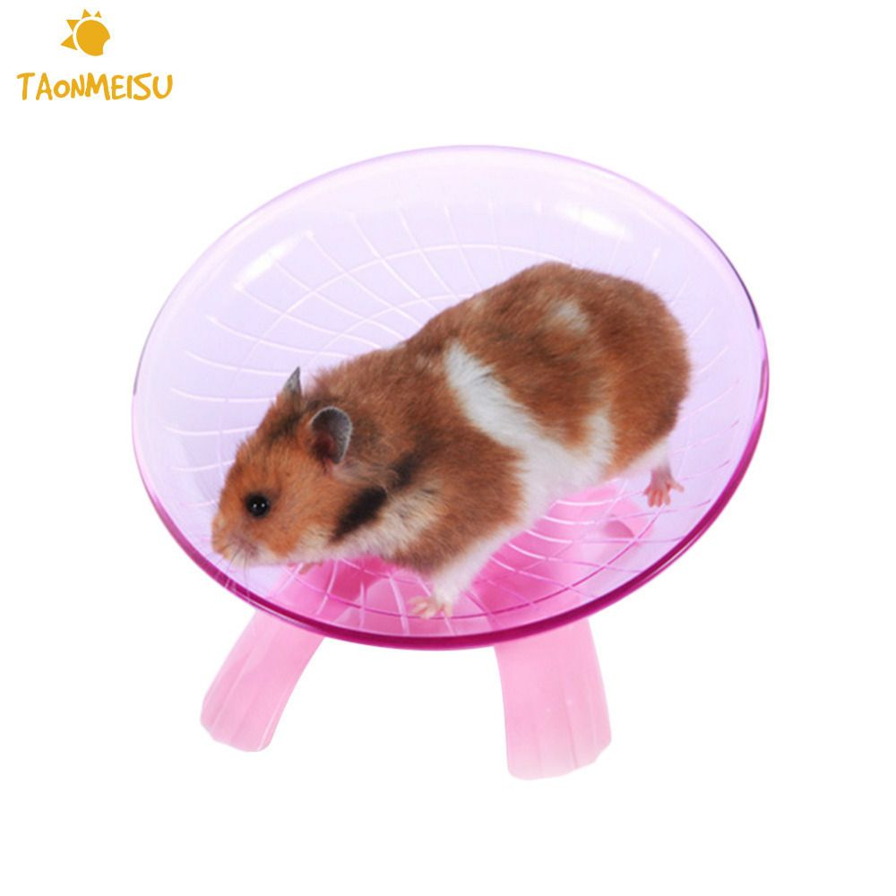 Diameter 18cm Ultra Quiet Design Hamster Flying Saucer Exercise Wheel Toys Drop Shipping Hamster Hamster Toys Exercise Wheel