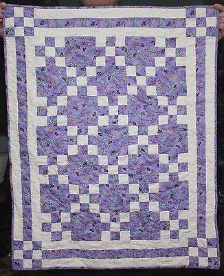 Quilt Irish Chain 100 Cotton Quilt Shop Quality Baby Child Wall 30 5 x 38 | eBay