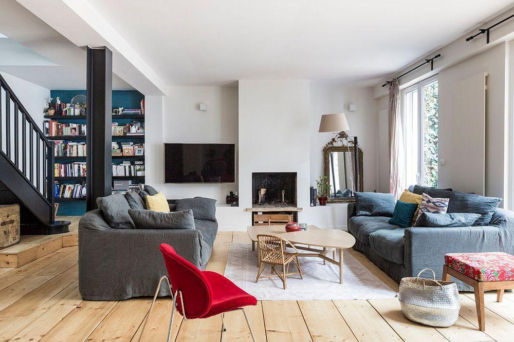 Maison boulogne billancourt : rénovation pas chère de 130 m2