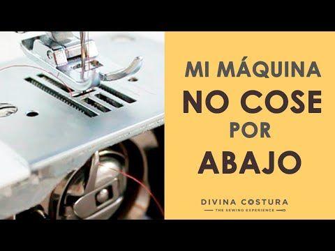 Mi Máquina de coser NO COSE POR ABAJO   6 TRUCOS QUE