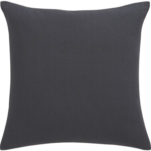 Brinkley Slate 40 Pillow In Decorative Pillows Crate And Barrel Gorgeous Crate And Barrel Decorative Pillows