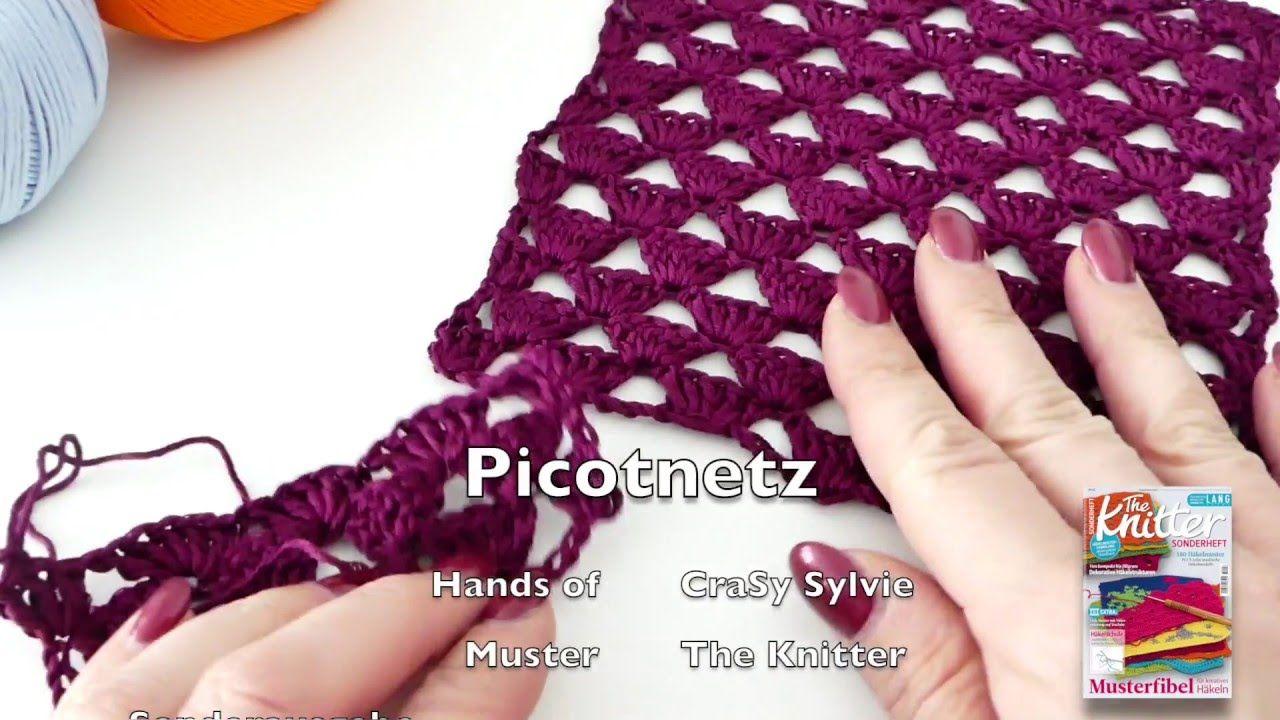 """Die Häkelschrift für dieses Muster findest Du im """"The Knitter ..."""