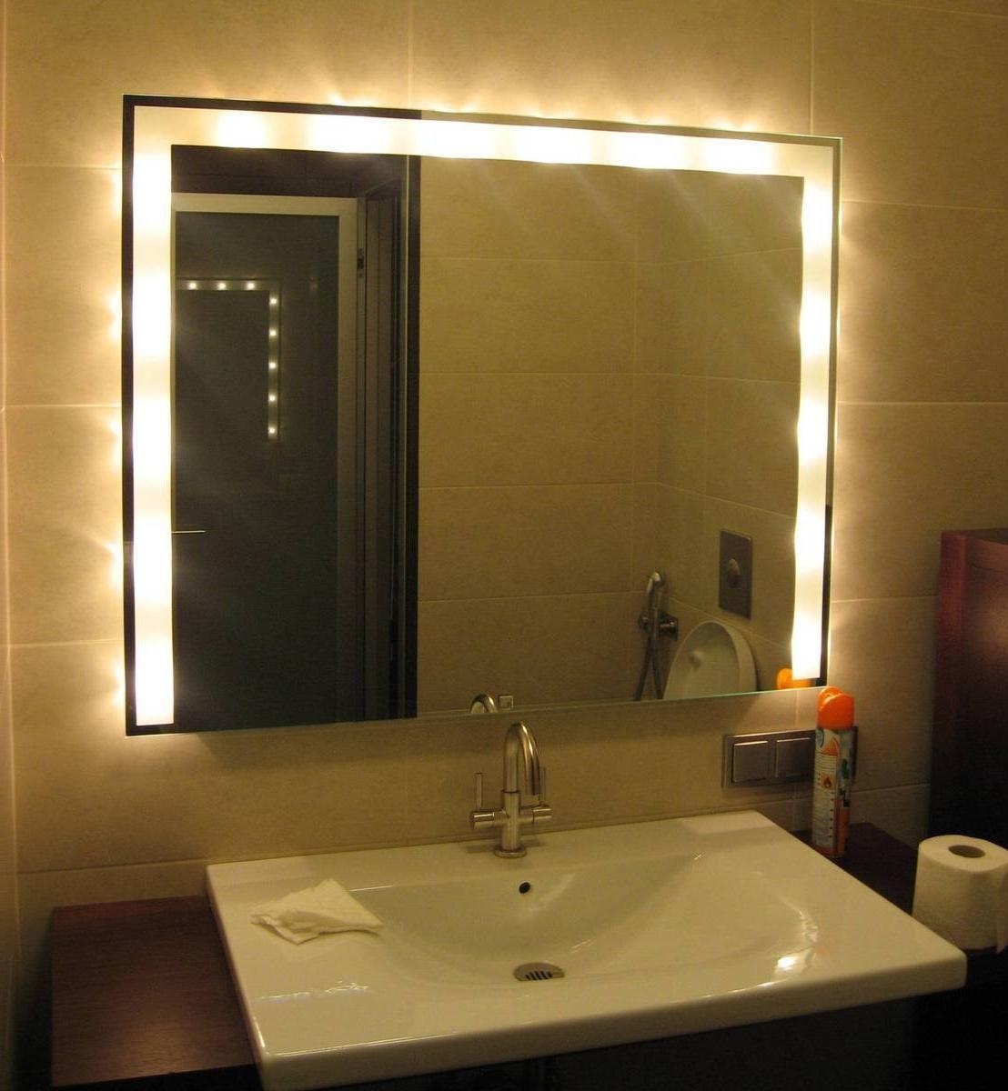 bathroom light bar with outlet | DIY House Ideas | Pinterest ...
