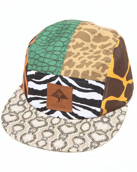 e777f6446f3 Lrg Men Savage Safari 5-Panel Hat Animal Print just showing the different  styles of animal prints   colors
