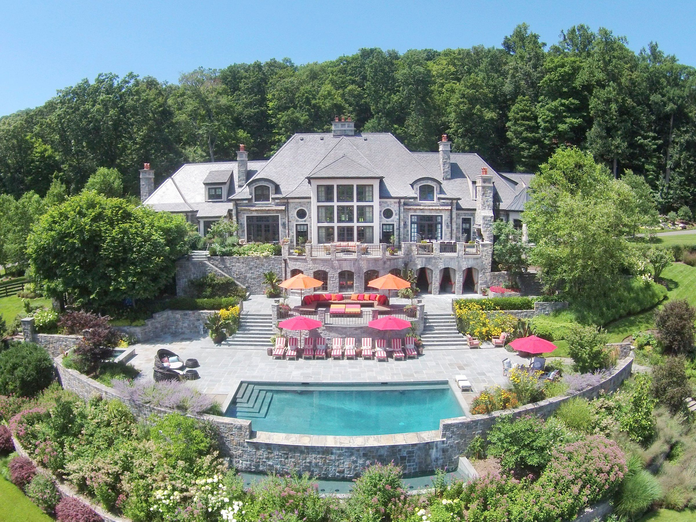 The Most Expensive House For Sale In New Jersey Is A Sprawling 29 5 Million Estate With A Private Expensive Houses Equestrian Estate Expensive Houses For Sale
