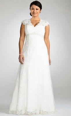 Big Size Informal Wedding Dresses
