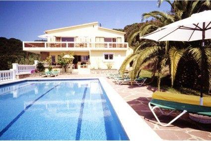 Villa Arethusa, Lloret de Mar, Costa Brava en Espagne Pinterest