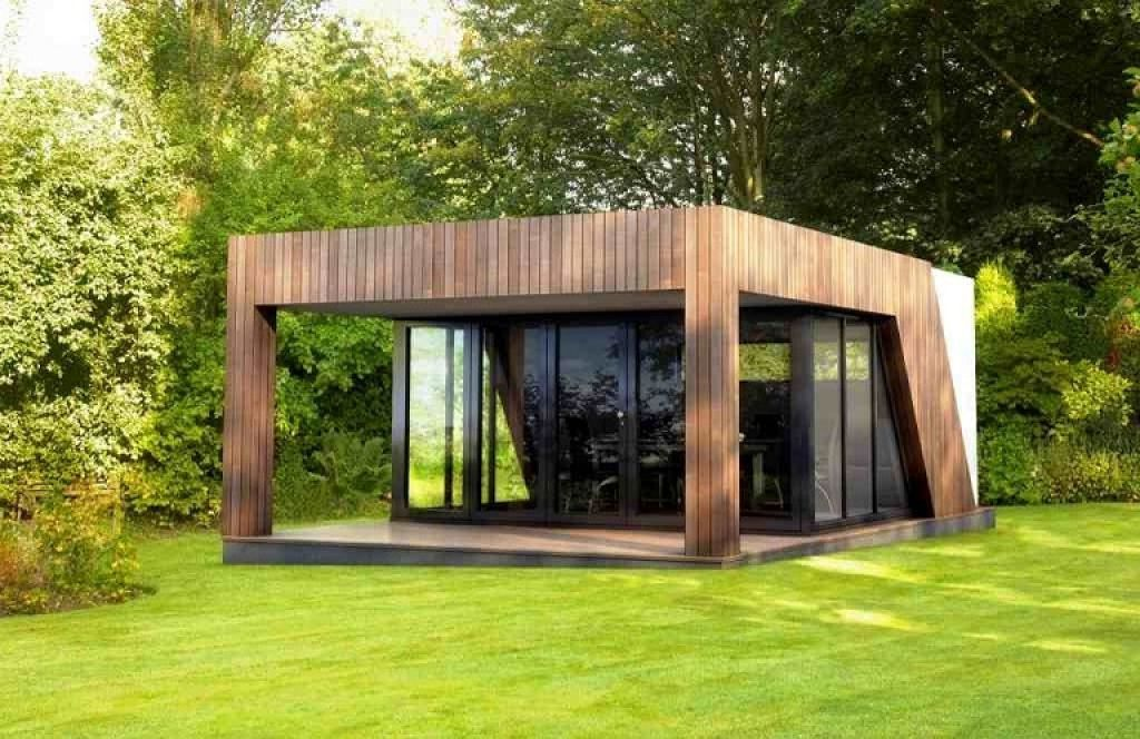 Garden awesome unusual garden sheds design luxury for Luxury garden sheds