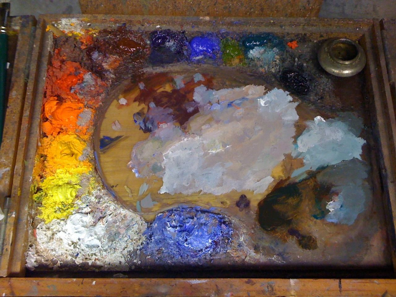 Oil Painting Color Palette For Cool Skin Tones