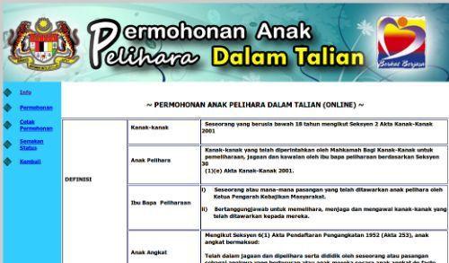 Prosedur Mengambil Anak Angkat Anak Pelihara Di Malaysia Business Plan Pdf Business Planning How To Plan