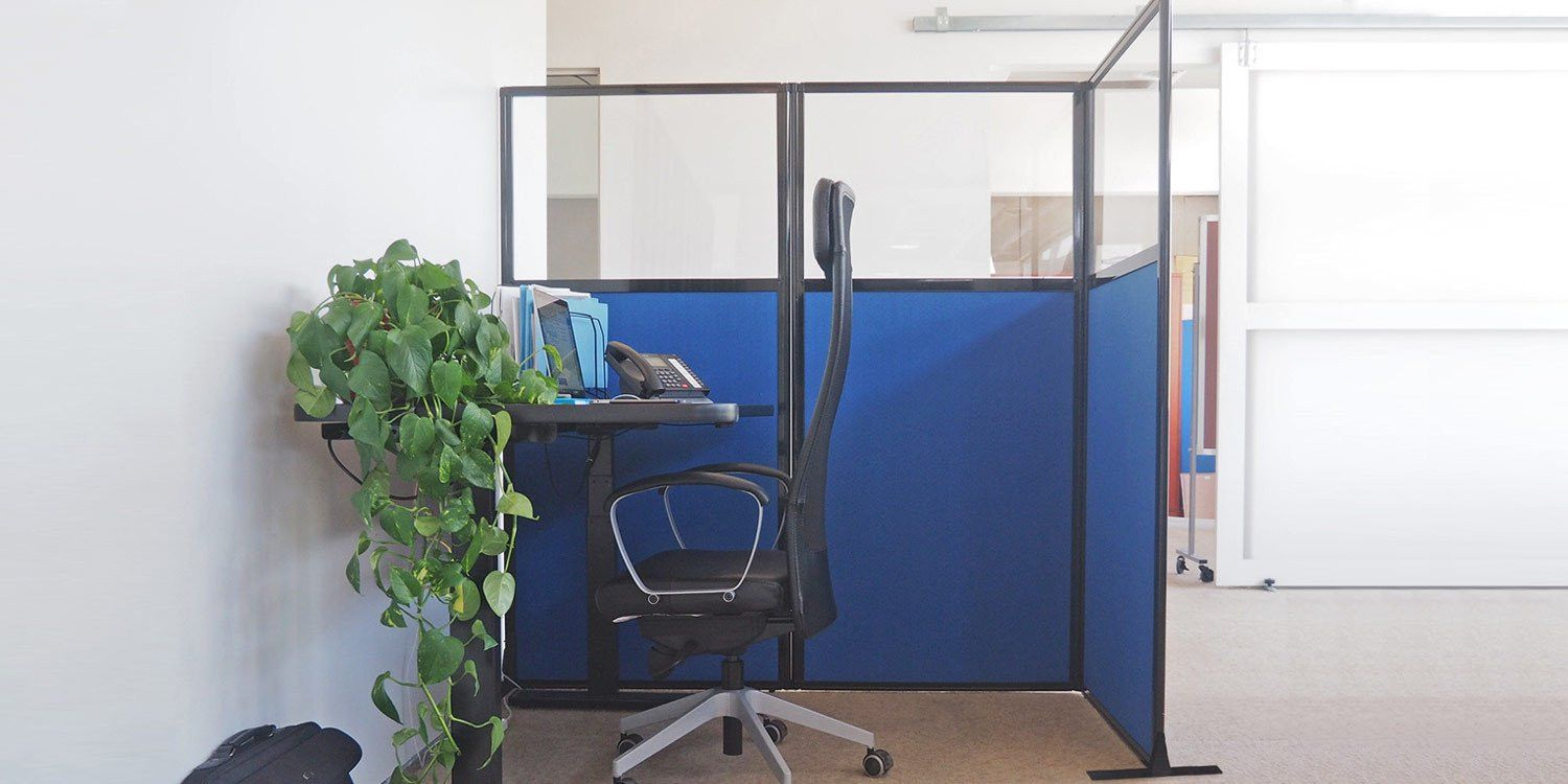 The Work Station Screen Is A Popular Choice For Creating Cubicle  Workstations Or Office Privacy Screens. Quickly And Easily Set Up A Work Or  Testing Area ...