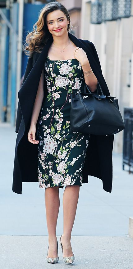 Look of the Day - March 27, 2014 - Miranda Kerr in Dolce & Gabbana from #InStyle