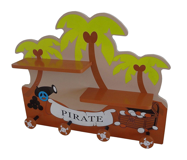 ⚓ Piratenzimmer: Kindergarderobe #Pirat - tolle #deko für das ...