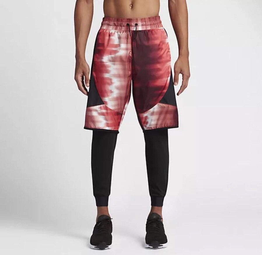 6620cc5e43492e 827395-657 MEN S NIKE INTERNATIONAL 2-in-1 Running Shorts   Tights Joggers  Large  Nike  Pants