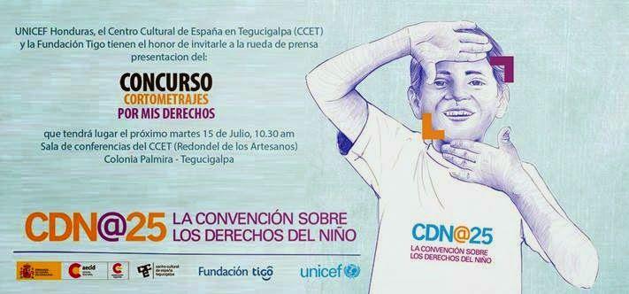 Honduras, Nación y Mundo: Invitación a rueda de prensa de UNICEF