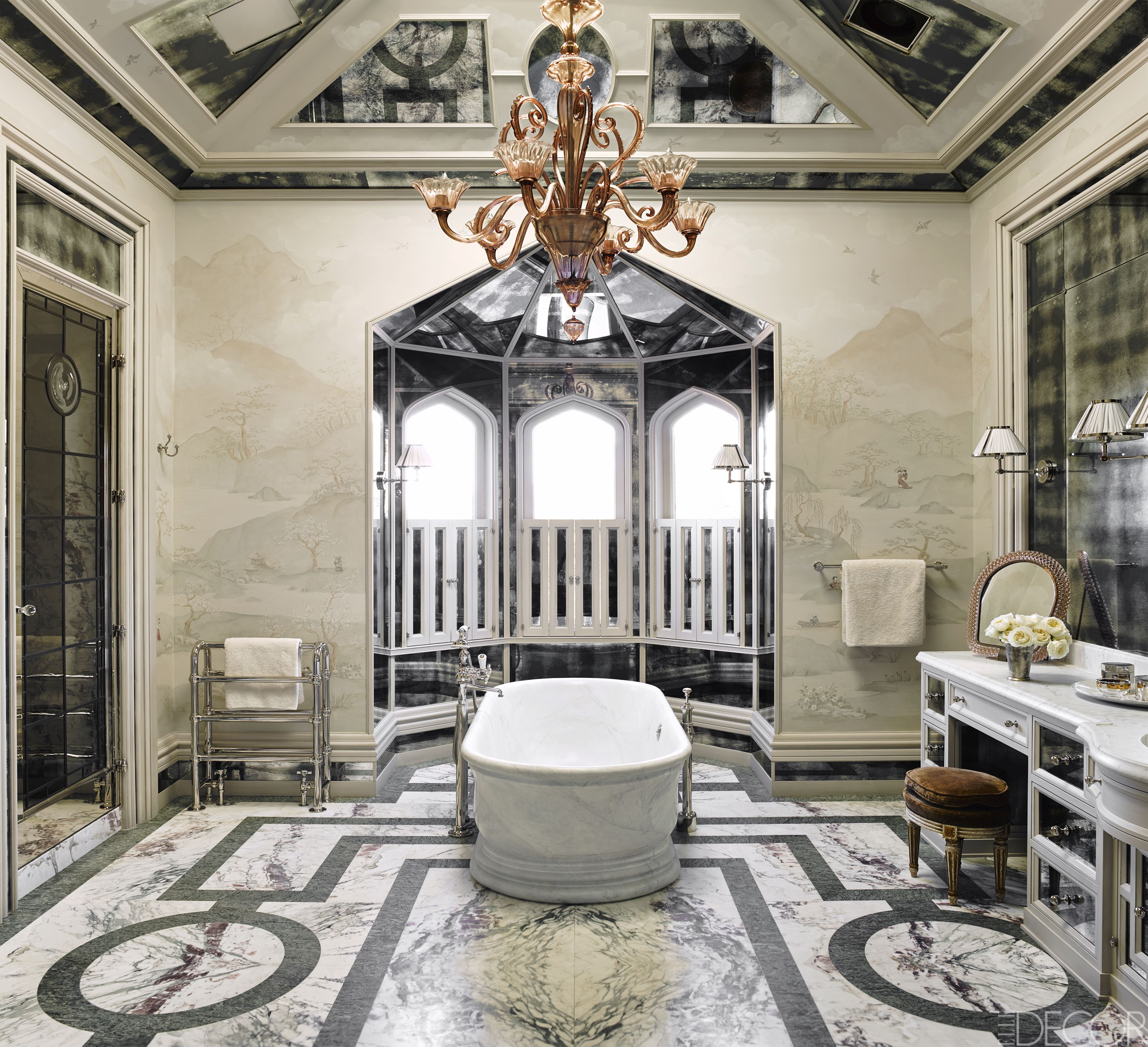 20 Luxurious Bathtubs That Completely Steal The Show  Bathtubs Adorable Luxury Bathroom Lighting Fixtures 2018