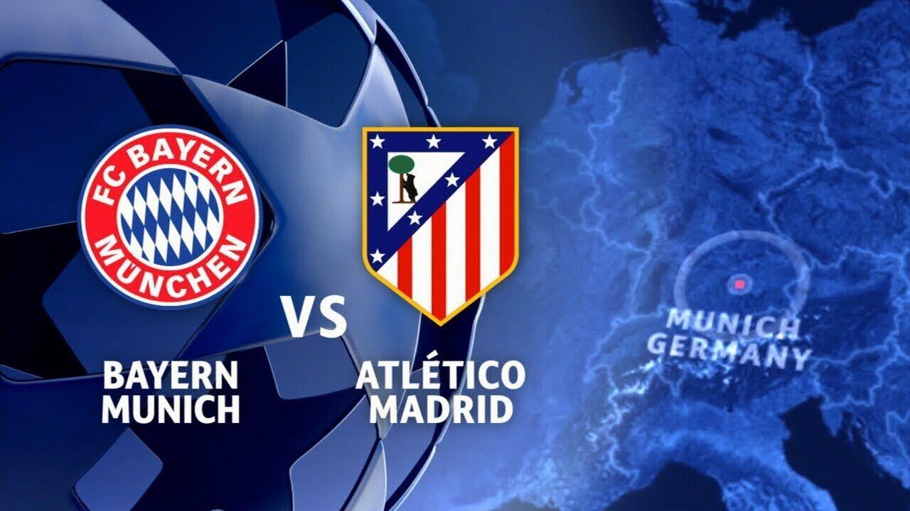 Champions League Bayern Vs Atletico