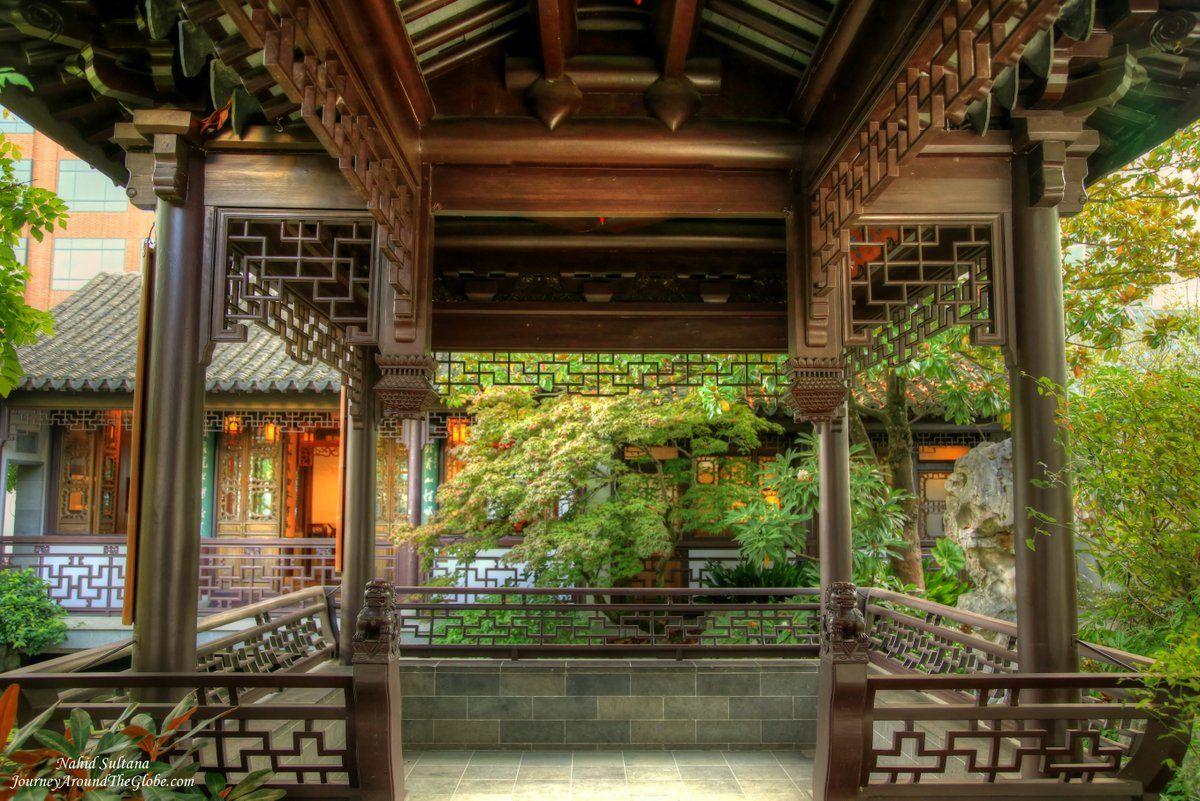 Lan Su Chinese Garden (Portland) Journey Around The