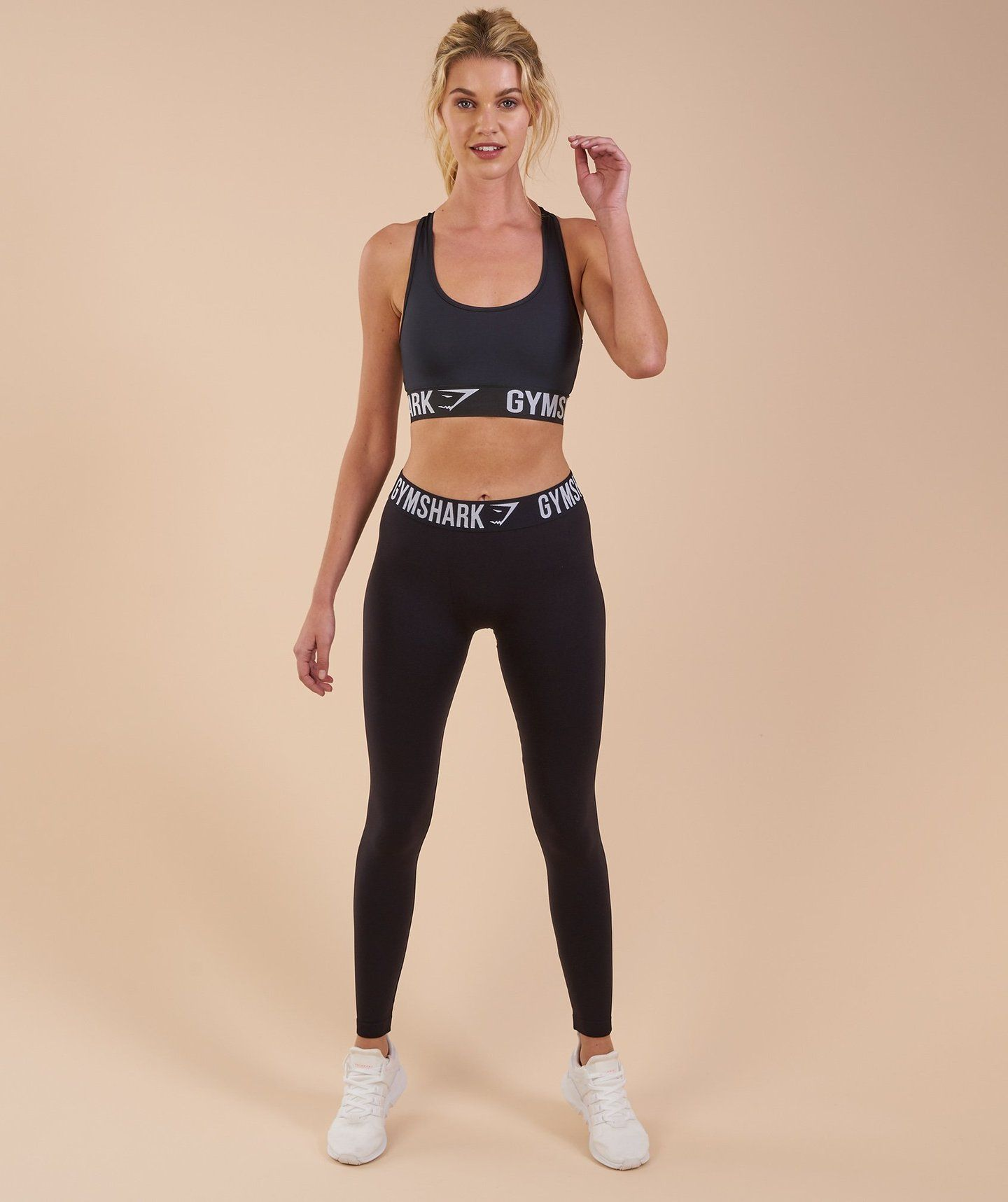 0b11fb5eefa1f4 Gymshark Fit Leggings - Black/White   lounge/activewear   Workout ...