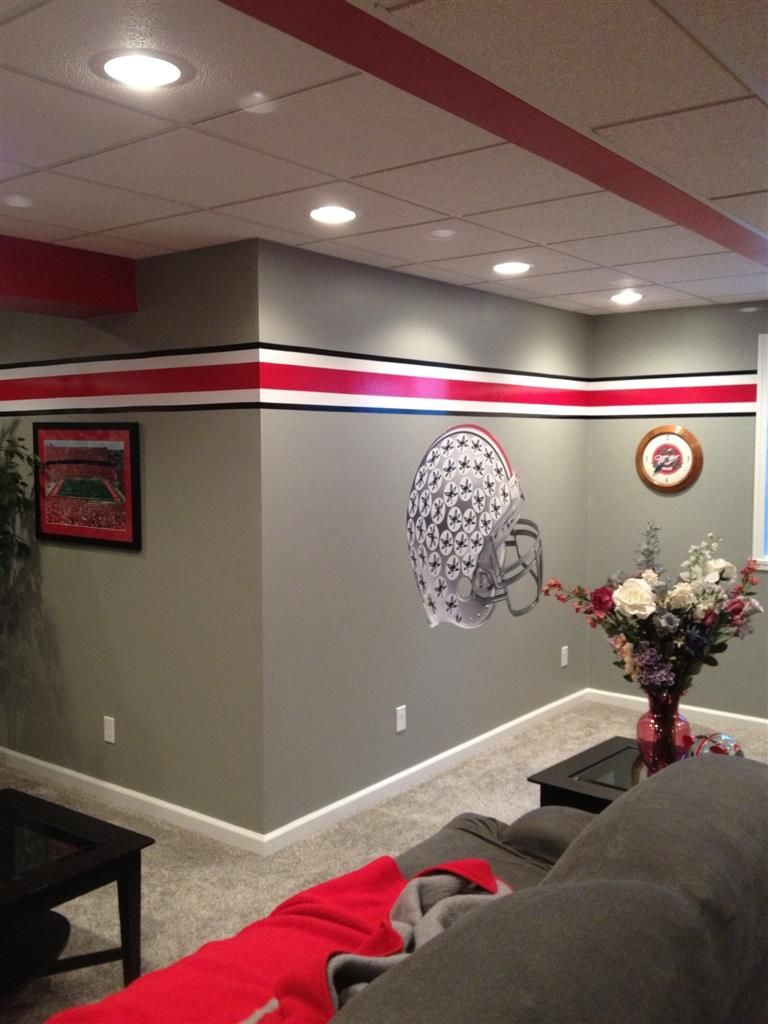 Buckeyes man cave the front row ohio state pinterest buckeyes man cave the front row ohio state decorohio amipublicfo Image collections