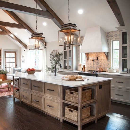 Fixer Upper Country Kitchen: Chip Gaines's Poignant Blog Post About The Church